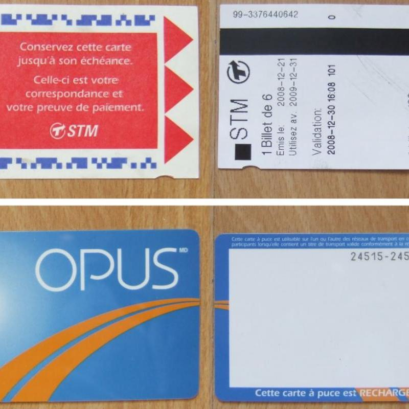 Stcum Metro Map.Opus Card And A La Carte Tickets Aczoom