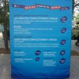 Acrobatics and movies festival